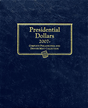 Presidential Dollar Album P&D Mintmarks