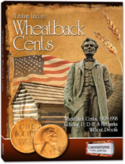 Coin Album - Lincoln Wheatback Cents, 1909-1958 P&D&S Without Proofs