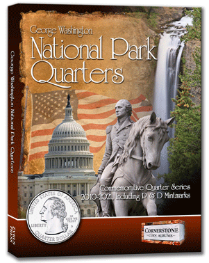 Coin Album - National Park Quarters Album 2010-2021  P&D