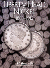 Liberty Head Nickels Folder 1883-1912