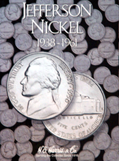 Jefferson Nickels Folder #1 1938-1961