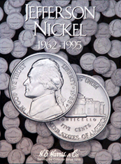 Jefferson Nickels Folder #2 1962-1995