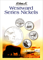Westward Series Nickels Folder 2004-2006