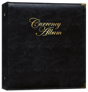 Whitman Premium Currency Album - Modern Notes - Clear View