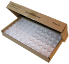 Cent size bulk 19mm Direct-Fit Guardhouse holders. 250 count box.