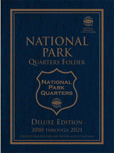 Deluxe Edition: National Park Quarter Folder P&D