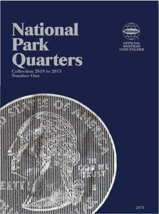National Park Quarter Folder P&D No. 1 2010-2015