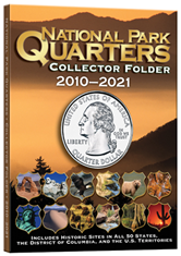 4 Color National Park Quarters Folder  5 3/4 x 7 3/4-1MM