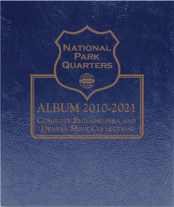 National Park Quarters Album 2010- 2021,  P & D