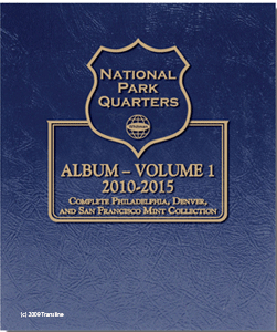 National Park Quarters Album - Vol. 1