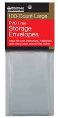 PVC-Free Poly Envelopes - Large