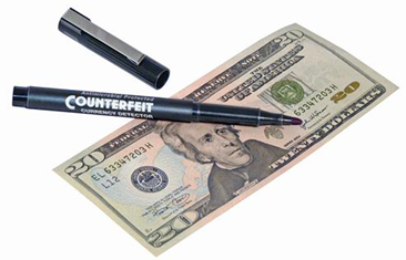 Counterfeit Detector Pen