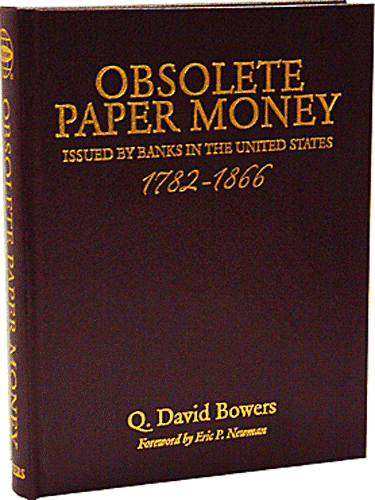 Obsolete Paper Money - Leather Cover