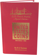 2002 Special Edition SS Central America cover Red Book, Hardbound