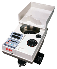 Semacon S-120 Portable Electric Coin Counter with Batching/Packaging/Offsorter