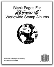 Harris Blank Pages For Supplements (WW)