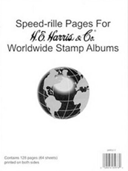 Harris Blank Pages For Supplements (WW Speedrille)