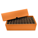 Quarter Tube Boxes - Holds 50 Tubes