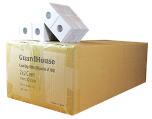 Guardhouse 2x2 Cent - 100/Bundle