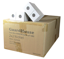 Guardhouse 2x2 Nickel - 100/Bundle