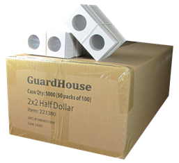Guardhouse 2x2 Half Dollar - 100/Bundle
