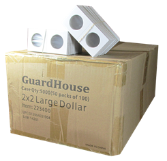 Guardhouse 2x2 Large Dollar - 100/Bundle