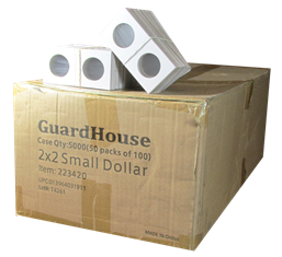 Guardhouse 2x2 Small Dollar - 100/Bundle