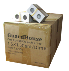 Guardhouse 1.5x1.5 Cent/Dime - 100/Bundle