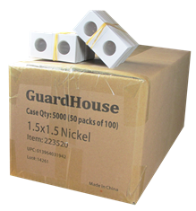 Guardhouse 1.5x1.5 Nickel - 100/Bundle
