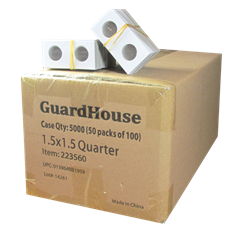 Guardhouse 1.5x1.5 Quarter - 100/Bundle