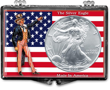 ASE Uncle Sam with US Flag