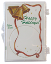ASE Happy Holidays Ribbon and Bells