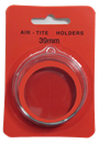 Air Tite 39mm Retail Package Holders - Holiday Ornament Red