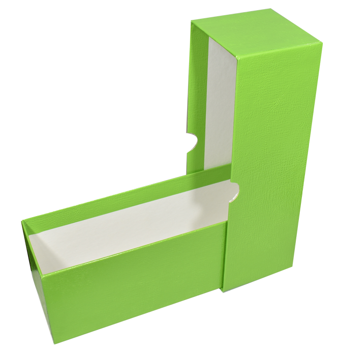 "Single Row Slab or Crown Box - 8.25"" - Green"