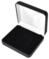 Air Tite H(L) Display Box Black Leatherette
