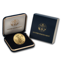 US Mint Gold Eagle 1/4 oz Presentation Box