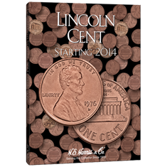 Lincoln Cent Folder #4 2014-Date