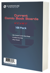 Boards for Current Comic Book Bag - 100 Pack