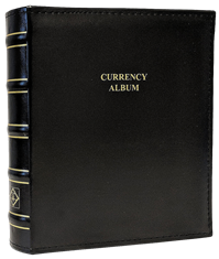 Currency Album for Graded Banknotes in Classic Design CLCAG