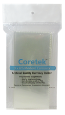 Coretek Modern Currency Holder 6 1/2 x 3  - 50 pack