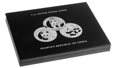 Collector Box - Panda 1oz Silver Coins