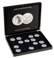 Collector Box - Morgan Silver Dollars
