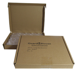 Silver Round 39mm Direct-Fit Guardhouse coin holders-50 per pack (L dia) / 50 per box.