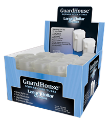 Guardhouse Large Dollar Coin Tube-50 Pack