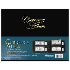 Whitman Currency Album for Modern Notes - Clear View