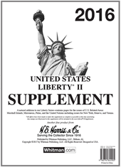 2016 Liberty II Stamp Supplement