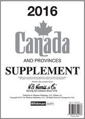 2016 Canada Stamp Supplement