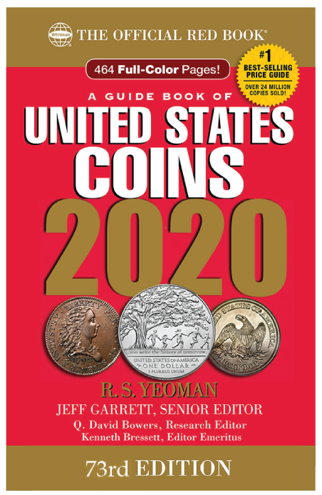 2020 Red Book Price Guide of United States Coins, Hidden Spiral