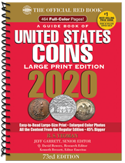 2020 Red Book Price Guide of United States Coins, Large Print