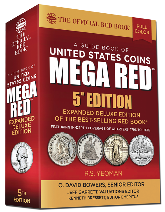 FUTURE RELEASE - 2020 Red Book MEGA, A Guide Book of United States Coins Deluxe 5th Edition 2020 Red Book MEGA A Guide Book of United States Coins Deluxe 5th Edition, 2020 Red Book Mega, Red Book Mega